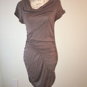 Dress, gathered for a very sexy look.